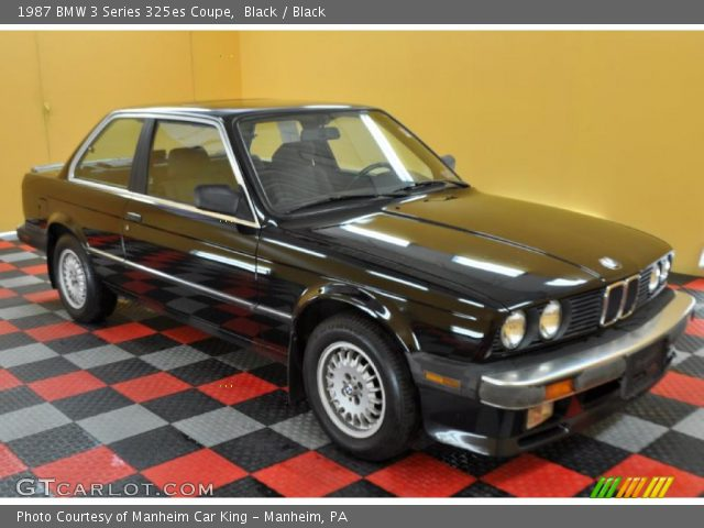 1987 BMW 3 Series 325es Coupe in Black