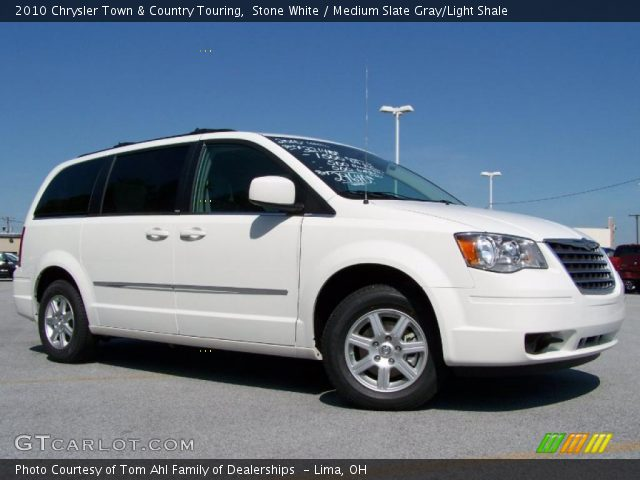 Stone white 2010 chrysler town country touring for Stone s town country motors