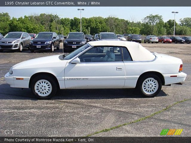 1995 Chrysler Lebaron Gtc Convertible In White