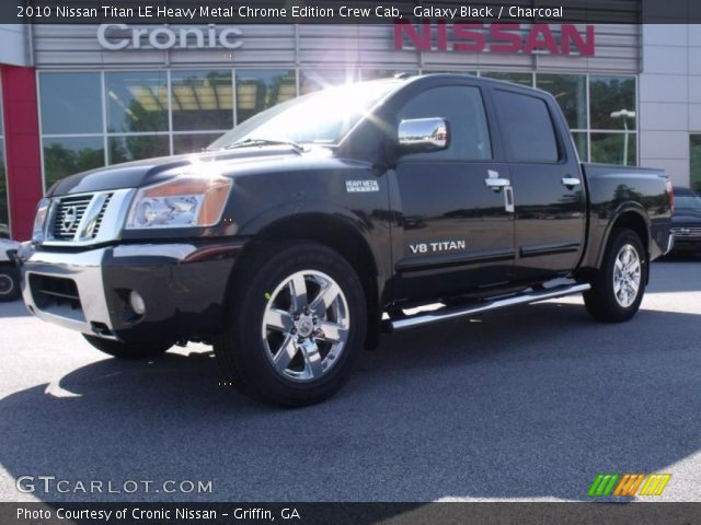galaxy black 2010 nissan titan le heavy metal chrome. Black Bedroom Furniture Sets. Home Design Ideas