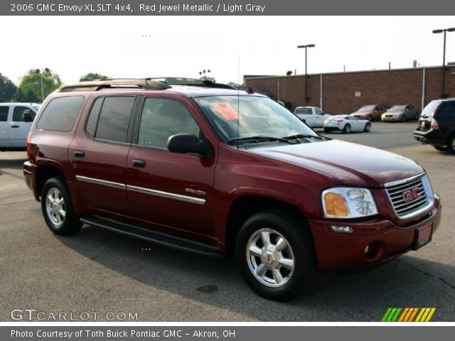 red jewel metallic 2006 gmc envoy xl slt 4x4 light. Black Bedroom Furniture Sets. Home Design Ideas