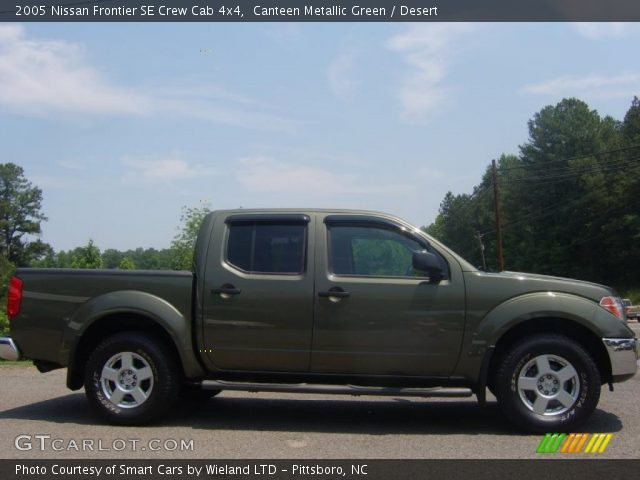 canteen metallic green 2005 nissan frontier se crew cab. Black Bedroom Furniture Sets. Home Design Ideas