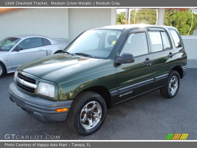 medium green metallic 1999 chevrolet tracker medium. Black Bedroom Furniture Sets. Home Design Ideas