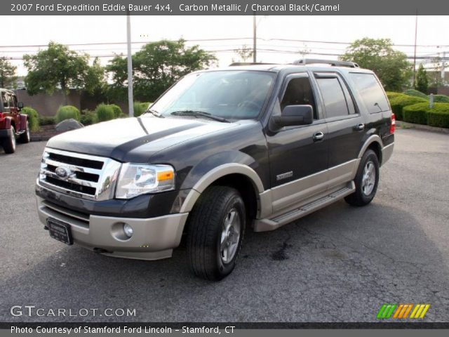 carbon metallic 2007 ford expedition eddie bauer 4x4 charcoal black camel interior. Black Bedroom Furniture Sets. Home Design Ideas
