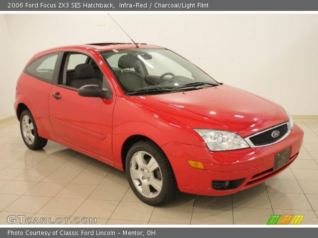 infra red 2006 ford focus zx3 ses hatchback charcoal. Black Bedroom Furniture Sets. Home Design Ideas