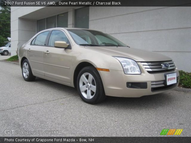 dune pearl metallic 2007 ford fusion se v6 awd. Black Bedroom Furniture Sets. Home Design Ideas