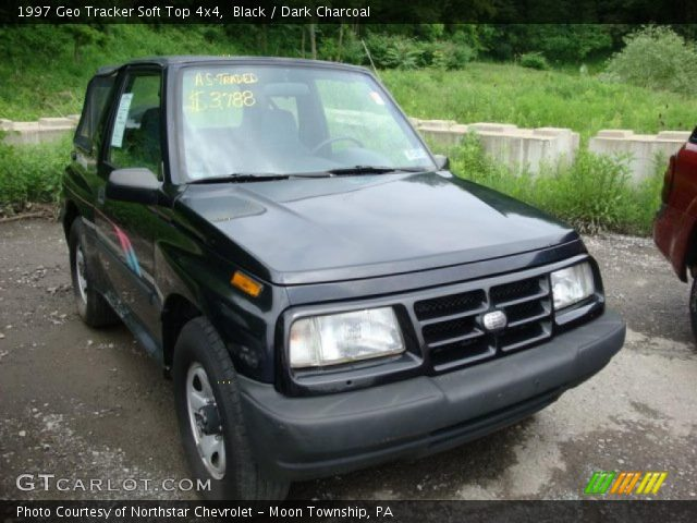 1997 Geo Tracker Soft Top 4x4 in Black