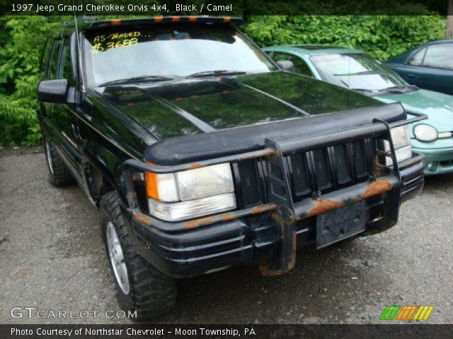 Black 1997 jeep grand cherokee orvis 4x4 camel - 1997 jeep grand cherokee interior ...