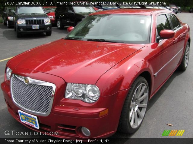 Inferno red crystal pearlcoat 2007 chrysler 300 c srt8 - 2007 chrysler 300 custom interior ...