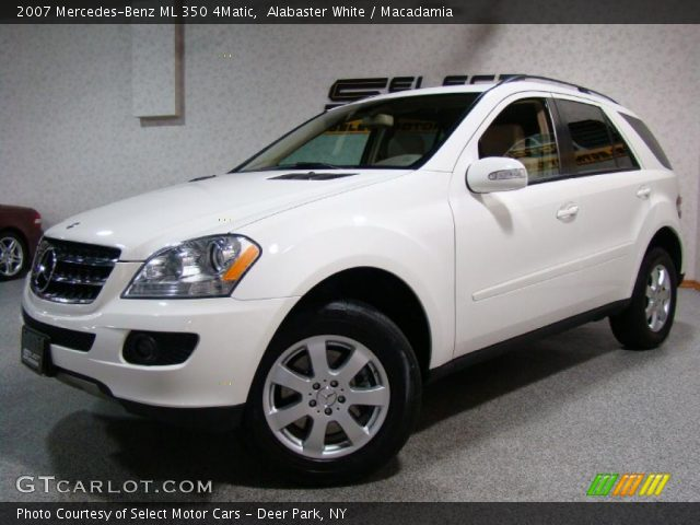 Alabaster white 2007 mercedes benz ml 350 4matic for Mercedes benz ml 350 2007