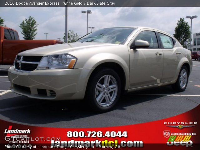 white gold 2010 dodge avenger express dark slate gray. Black Bedroom Furniture Sets. Home Design Ideas