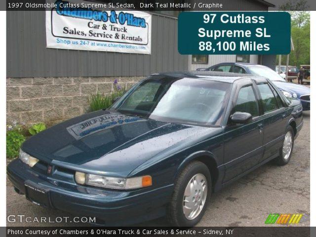 1997 Oldsmobile Cutlass Supreme SL Sedan in Dark Teal Metallic