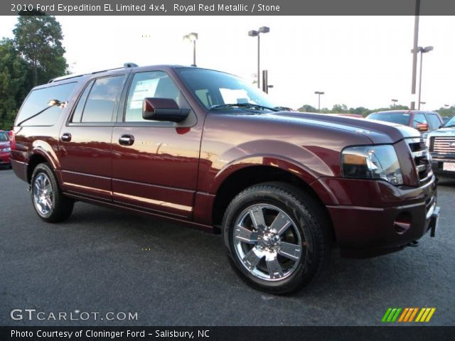 royal red metallic 2010 ford expedition el limited 4x4 stone interior. Black Bedroom Furniture Sets. Home Design Ideas