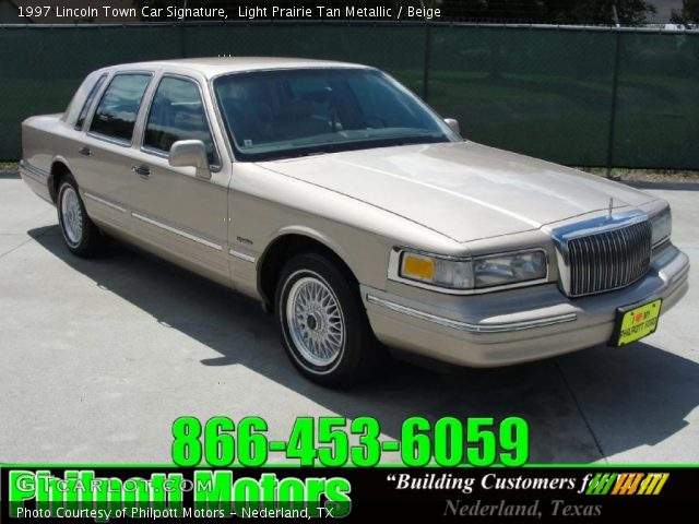 light prairie tan metallic 1997 lincoln town car signature beige interior. Black Bedroom Furniture Sets. Home Design Ideas