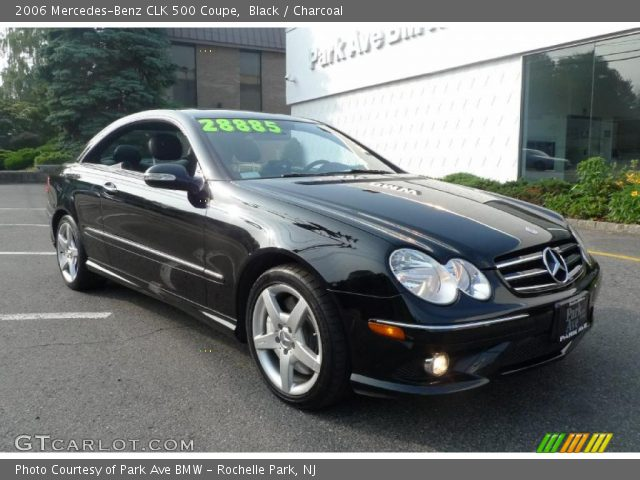 Black 2006 mercedes benz clk 500 coupe charcoal for 2006 mercedes benz clk 500