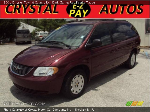 Dark garnet red pearl 2001 chrysler town country lx - 2001 chrysler town and country interior ...