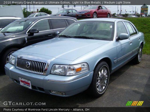 2010 Mercury Grand Marquis LS Ultimate Edition in Light Ice Blue Metallic