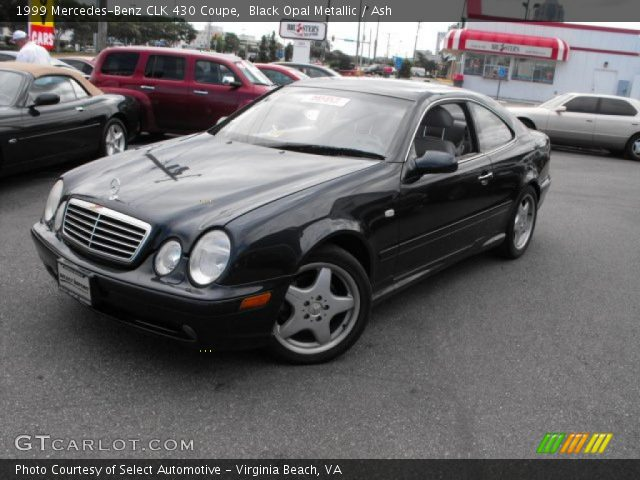 Black opal metallic 1999 mercedes benz clk 430 coupe for 1999 mercedes benz clk 430