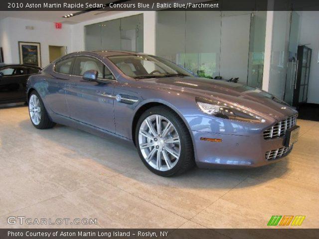 2010 Aston Martin Rapide Sedan in Concours Blue