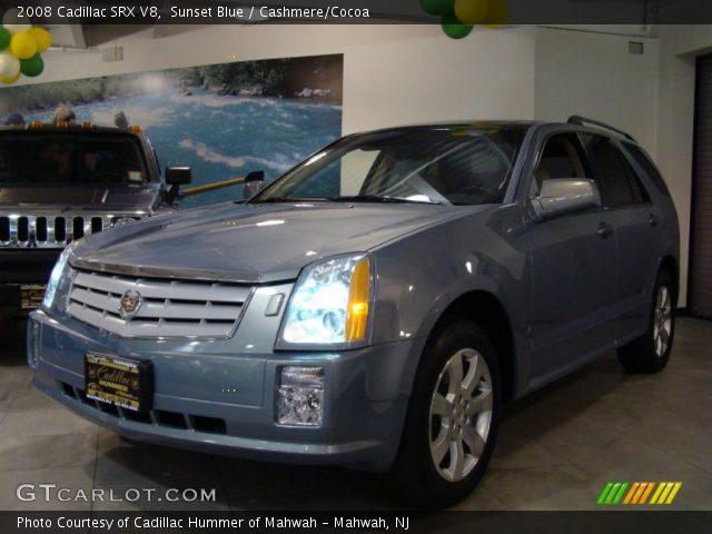 2008 Cadillac SRX V8 in Sunset Blue