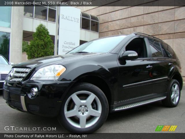 Black 2008 mercedes benz ml 550 4matic black interior for 2008 mercedes benz ml550 4matic