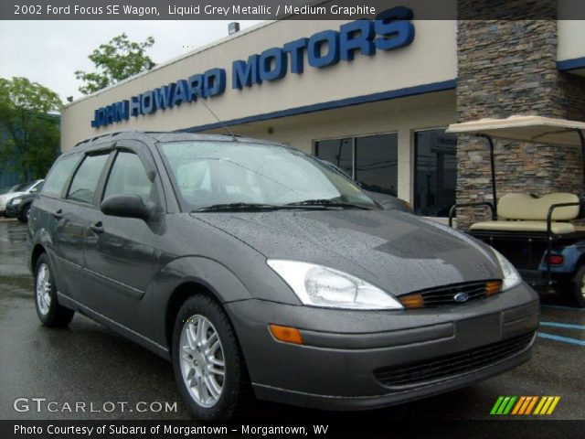 liquid grey metallic 2002 ford focus se wagon medium. Black Bedroom Furniture Sets. Home Design Ideas