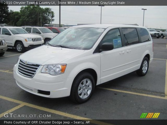 Stone white 2010 chrysler town country lx medium for Stone s town country motors