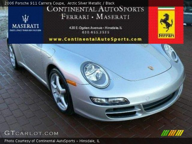 2006 Porsche 911 Carrera Coupe in Arctic Silver Metallic