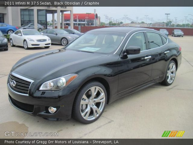 2011 Infiniti M 37 S Sedan in Black Obsidian