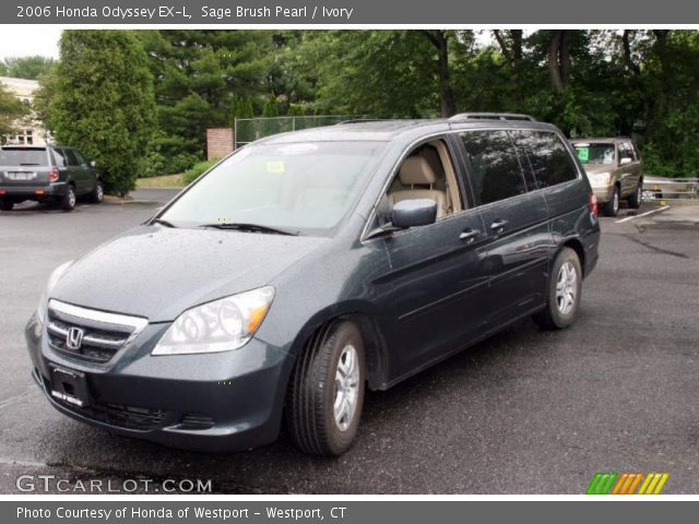 sage brush pearl 2006 honda odyssey ex l ivory. Black Bedroom Furniture Sets. Home Design Ideas