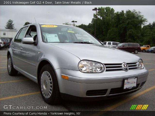 satin silver metallic 2001 volkswagen golf gls 4 door. Black Bedroom Furniture Sets. Home Design Ideas