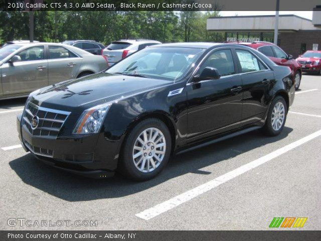 black raven 2010 cadillac cts 4 3 0 awd sedan cashmere. Black Bedroom Furniture Sets. Home Design Ideas