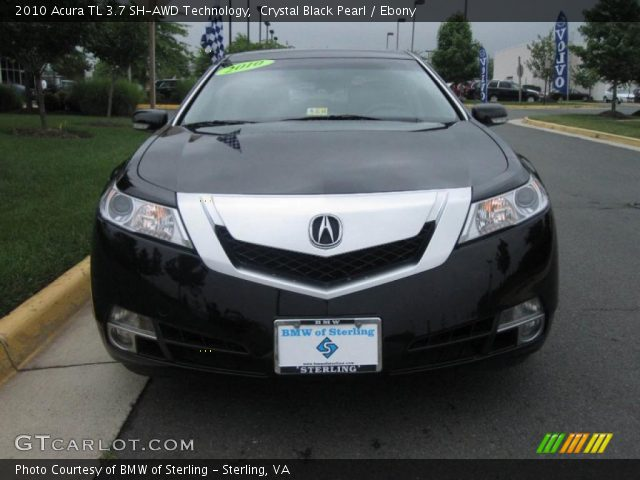 2010 Acura Tl Black Interior