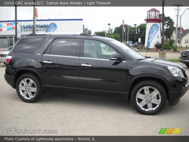 2010 GMC Acadia SLT in Carbon Black Metallic