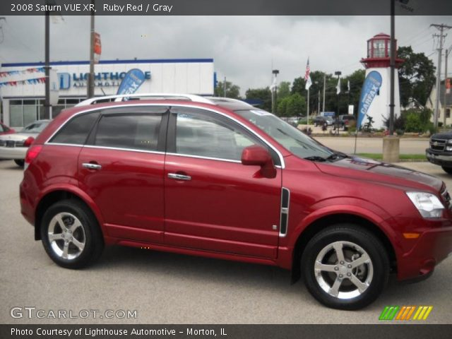 ruby red 2008 saturn vue xr gray interior vehicle archive 31537019. Black Bedroom Furniture Sets. Home Design Ideas