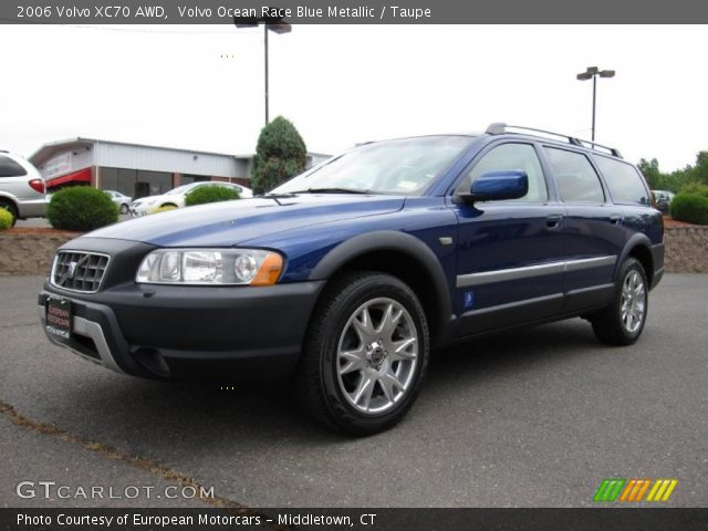 volvo ocean race blue metallic 2006 volvo xc70 awd taupe interior vehicle. Black Bedroom Furniture Sets. Home Design Ideas