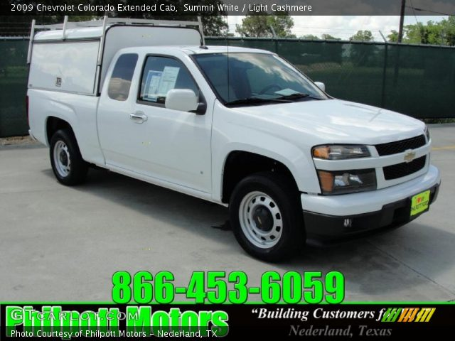 summit white 2009 chevrolet colorado extended cab light cashmere interior. Black Bedroom Furniture Sets. Home Design Ideas