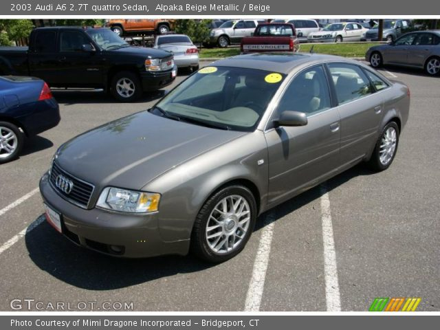 2003 audi a6 2 7 t quattro tiptronic c5 related infomation specifications weili automotive network. Black Bedroom Furniture Sets. Home Design Ideas