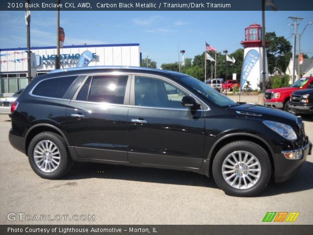 2010 Buick Enclave CXL AWD in Carbon Black Metallic