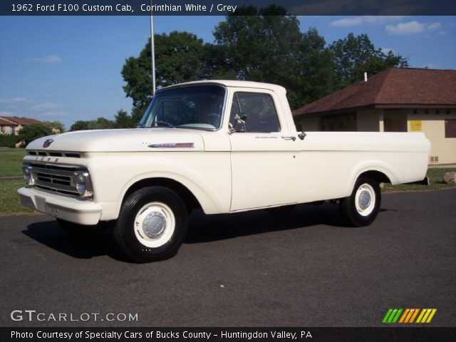 1962 Ford F100 Custom Cab http://gtcarlot.com/car/31743330