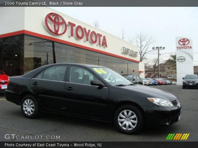 black 2006 toyota camry le stone gray interior vehicle archive 3172434. Black Bedroom Furniture Sets. Home Design Ideas