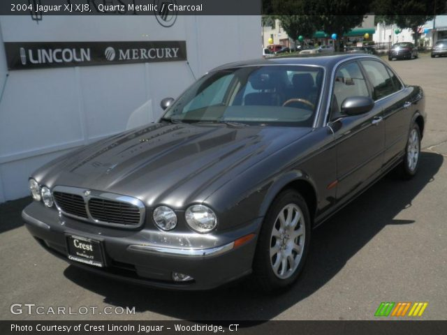 quartz metallic 2004 jaguar xj xj8 charcoal interior. Black Bedroom Furniture Sets. Home Design Ideas