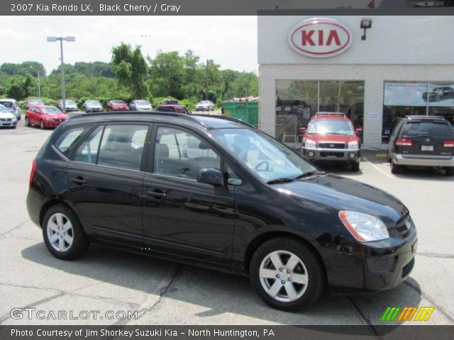 black cherry 2007 kia rondo lx gray interior. Black Bedroom Furniture Sets. Home Design Ideas