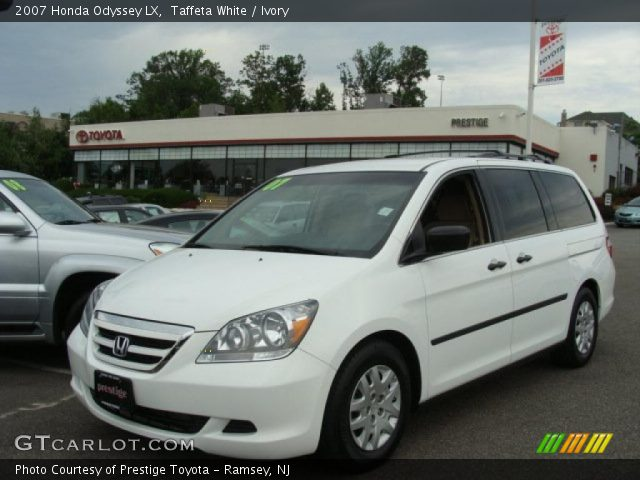 taffeta white 2007 honda odyssey lx ivory interior. Black Bedroom Furniture Sets. Home Design Ideas