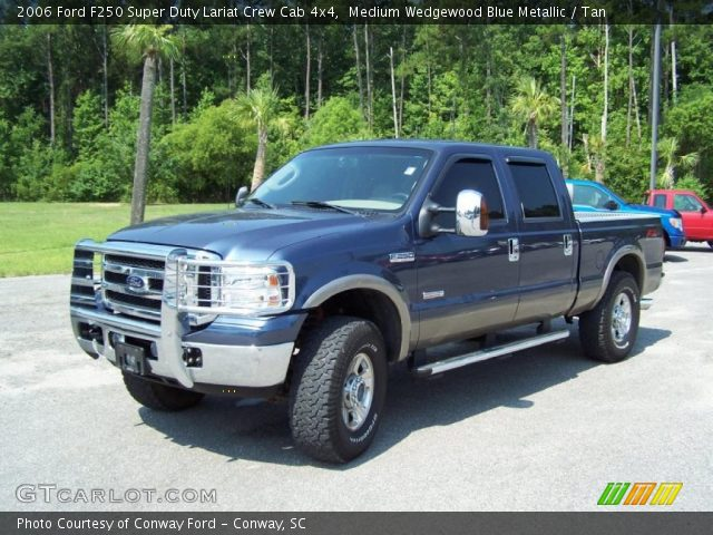 medium wedgewood blue metallic 2006 ford f250 super duty. Black Bedroom Furniture Sets. Home Design Ideas