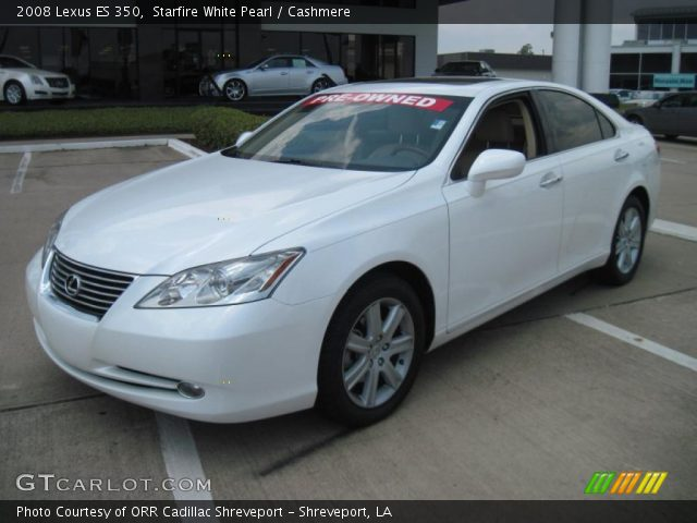starfire white pearl 2008 lexus es 350 cashmere. Black Bedroom Furniture Sets. Home Design Ideas