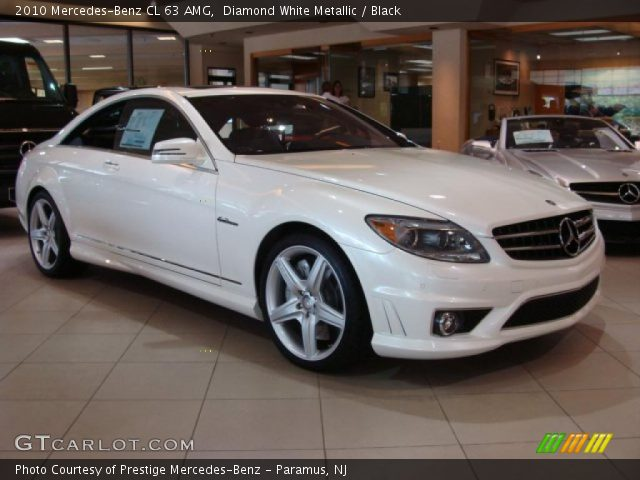 diamond white metallic 2010 mercedes benz cl 63 amg. Black Bedroom Furniture Sets. Home Design Ideas