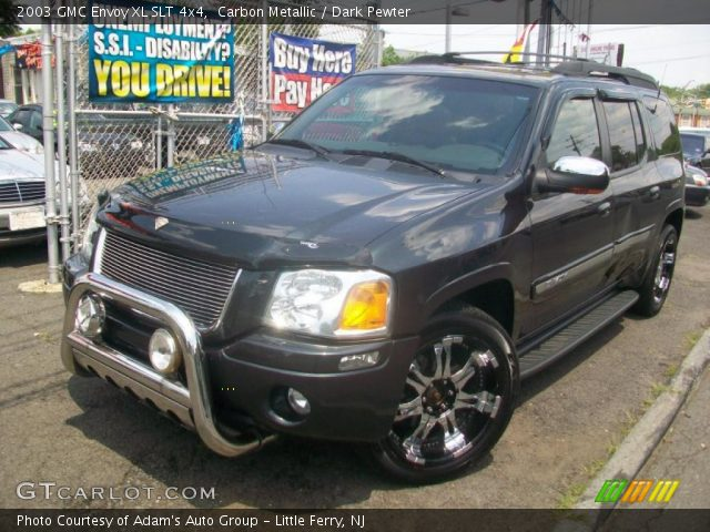 carbon metallic 2003 gmc envoy xl slt 4x4 dark pewter. Black Bedroom Furniture Sets. Home Design Ideas