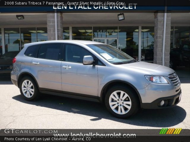 2008 Subaru Tribeca 7 Passenger in Quartz Silver Metallic