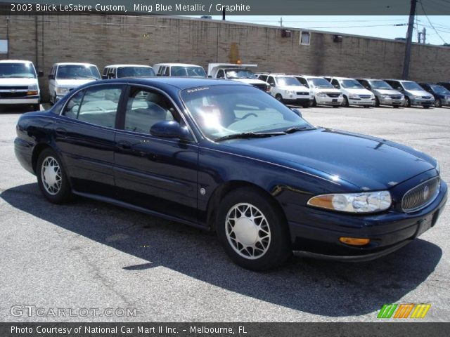 2003 Buick LeSabre Custom in Ming Blue Metallic. Click to see large ...